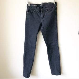 🌸 Loft | Modern Skinny black jeans